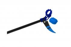 Rakonheli Heckeinheit in blau für Rakonheli Hauptrahmen für Blade Nano CP S und Nano S2