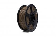 FlashForge Filament Holz (Holzfasern und Farbe) in dunkel Ø1.75mm 1Kilo