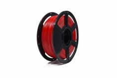 FlashForge Filament PETG (Polyethylenterephthalat glykolmodifiziert) in rot Ø1.75mm 1Kilo