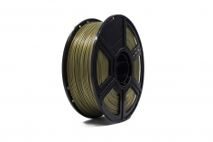 Flashforge Filament aus PLA (polylactic acid) in gold Ø1.75mm 1kg