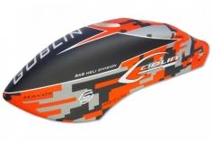 Kabinenhaube im rotem Havok Design für Goblin Thunder 700 Sport