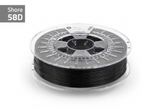 Extrudr Filament TPU (Thermoplastic Polyurethane) FLEX HARD in schwarz Ø 1,75mm 0,75Kilo
