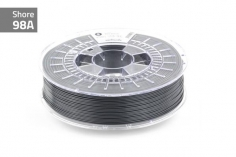 Extrudr Filament TPU (Thermoplastic Polyurethane) FLEX MEDIUM in anthratzit Ø 1,75mm 0,75Kilo