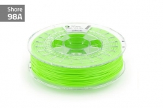 Extrudr Filament TPU (Thermoplastic Polyurethane) FLEX MEDIUM in neon grün Ø 1,75mm 0,75Kilo