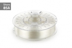 Extrudr Filament TPU (Thermoplastic Polyurethane) FLEX SOFT in klar-transparent Ø 1,75mm 0,75Kilo
