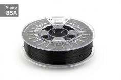 Extrudr Filament TPU (Thermoplastic Polyurethane) FLEX SOFT in schwarz Ø 1,75mm 0,75Kilo