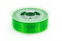 Extrudr Filament PETG (Polyethylenterephthalat glykolmodifiziert) in transparent grün Ø 1,75mm 1,1Kilo
