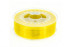 Extrudr Filament PETG (Polyethylenterephthalat glykolmodifiziert) in transparent gelb Ø 1,75mm 1,1Kilo