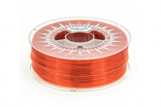 Extrudr Filament PETG (Polyethylenterephthalat glykolmodifiziert) in transparent orange Ø 1,75mm 1,1Kilo