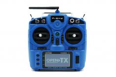 FrSky Taranis Sender X9 Lite in blau mit 4GB SD-Karte