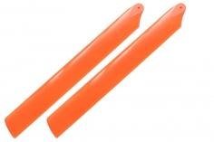 Rakonheli Hauptrotorblätter in orange 155mm für den Blade 150 S, 180 CFX