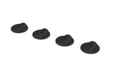 OXY Ersatzteil Heckrotorblatt Abstandhalter 1mm in schwarz für OXY5