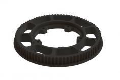 OXY Ersatzteil Zahnriemenrad vorne in schwarz für OXY5