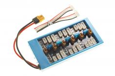 Paraboard mit Sicherungen V3 XH- XT30 mit XT60 Anschluss für die ISDT Ladegeräte