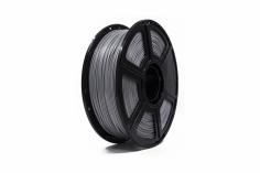 FlashForge Filament PETG (Polyethylenterephthalat glykolmodifiziert) in silber Ø1.75mm 1Kilo