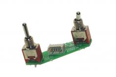 FrSky Taranis Schalter X-Lite linke Seite Momentschalter (klein) 3 Pos. (groß)