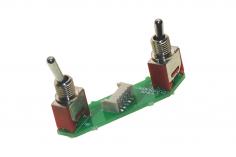 FrSky Taranis Schalter X-Lite rechte Seite Momentschalter (klein) 3 Pos. (groß)