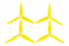 Gemfan FPV Race und Freestyle Propeller Hurricane 5146 5,1×4,6x3 in Lemon gelb