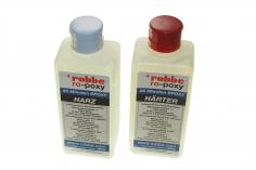 Robbe 30-Minuten-Epoxy 500g, Epoxidharz 250g und Epoxidhärter 250g