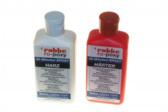 Robbe 30-Minuten-Epoxy 200g, Epoxidharz 100g und Epoxidhärter 100g