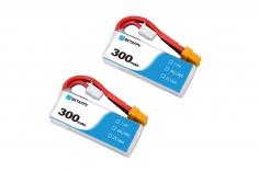 BetaFPV LiPo Akku 300mAh 2S 45C mit XT30 (2 Stück)