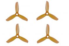 Gemfan FPV Race Propeller WINDANCER 3028 3×2,8x3 in orange transparent