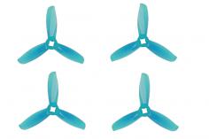 Gemfan FPV Race Propeller WINDANCER 3028 3×2,8x3 in blau transparent