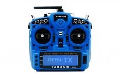 FrSky Taranis X9D plus 2019 EU/LBT Senderset Sky Blue mit SD-Karte, ohne Akku in Mode 2