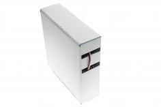 Servokabel für Futaba System 3x0,14mm² PVC flach in der praktischen Rollenspenderbox 25 Meter