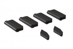 OXY Landegestell und Heckfinnen Schutz für OXY5 in schwarz