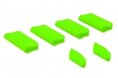 OXY Landegestell und Heckfinnen Schutz für OXY5 in grün