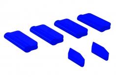 OXY Landegestell und Heckfinnen Schutz für OXY5 in blau