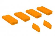 OXY Landegestell und Heckfinnen Schutz für OXY5 in orange