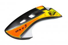 OXY Kabinenhaube für OXY5 im Design 9 / Schwarz/Orange