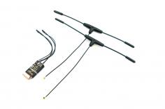 FrSky 868 MHz Empfänger R9 slim+ / LBT mit 2x T Dipolantenne