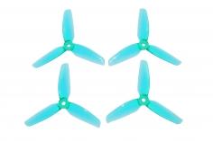 Gemfan FPV Race Propeller WINDANCER 4032 4x3,2x3 in blau transparent