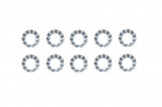 Fächerscheiben / Sicherungsscheiben Außendurchmesser 6mm Innendurchmesser 3,2mm für M3