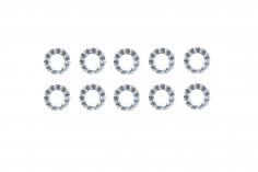 Fächerscheiben / Sicherungsscheiben Außendurchmesser 5,5mm Innendurchmesser 2,7mm für M2,5