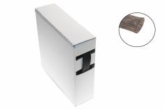 Geflechtschlauch 13-25mm schwarz auf der praktischen Rollenspenderbox 15 Meter