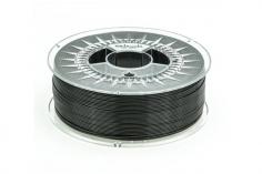 Extrudr Filament PETG (Polyethylenterephthalat glykolmodifiziert) in schwarz Ø 1,75mm 1,1Kilo