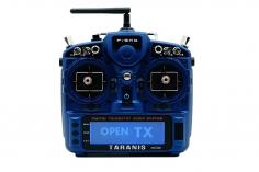 FrSky Taranis X9D plus 2019 EU/LBT Senderset Sonder Edition Night Blue mit SD-Karte, ohne Akku in Mode 2