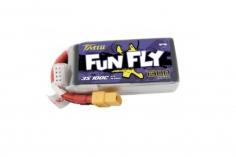 TATTU FunFly 1300mAh 11.1V 100C 3S1P Lipo Akku XT60