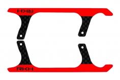 Rakonheli Landegestell Ersatzkufen in rot für Blade Fusion 180