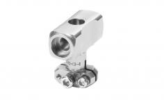 Rakonheli Hauptrotorkopf silber CNC Aluminium für Blade Fusion 180