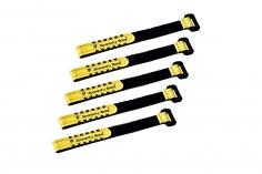 Speedy Bee Akkuklettband mit Kunststoff Schlaufe 160x10mm 5 Stück