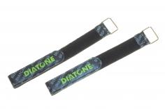 Diatone Klettband mit Metal Schlaufe 250x20mm 2Stück