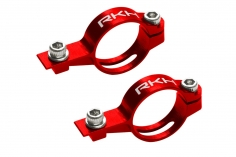 Rakonheli Heckservohalterung aus Alu in rot für Blade Fusion 180