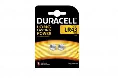 Duracell  1,5V Lithium Batterie Knopfzelle 2 Stück LR43