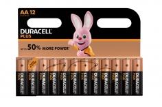 Duracell Plus Mignon Alkaline Batterie AA LR6 12 Stück