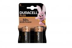 Duracell Plus Baby C 1,5V Lithium Batterie LR14 2 Stück